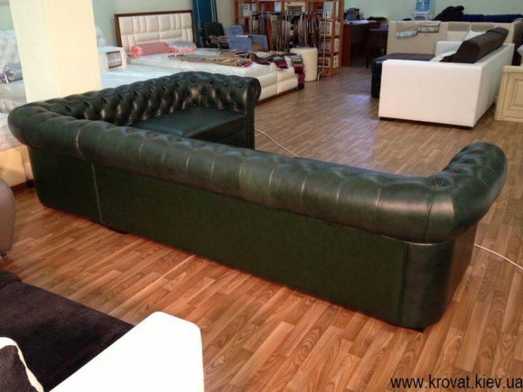 угловой диван в бильярдную