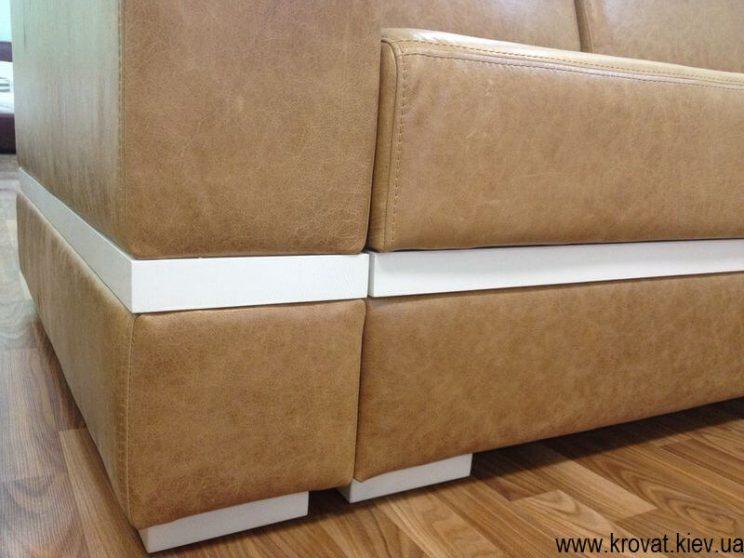 диван із шкіри