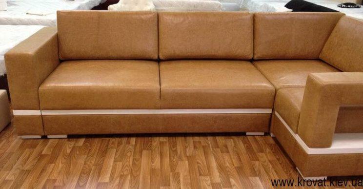 диван в итальянской коже