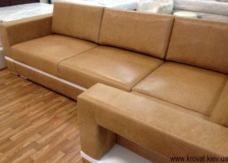 диван в коже от производителя