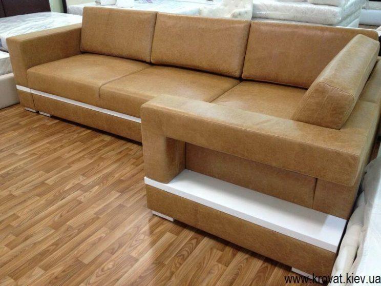 производство диванов в коже