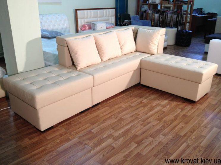 кутовий диван на кухню