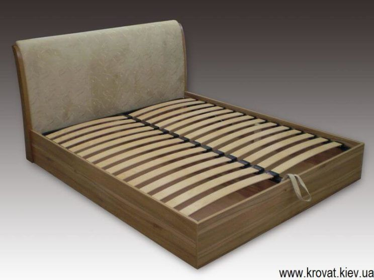 кровать Виктория с изголовьем под уклоном на заказ