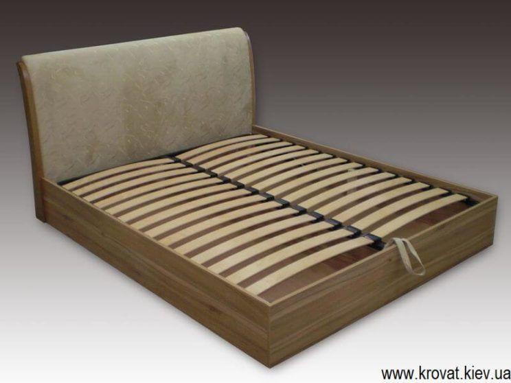 ліжко Вікторія з узголів'ям під ухилом на замовлення