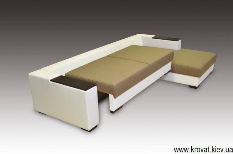 кутовий диван з механізмом пума