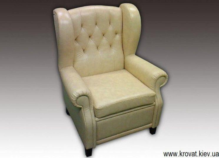 крісло з вухами на замовлення