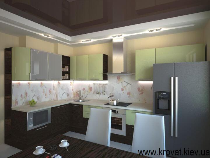 3d визуализация кухни