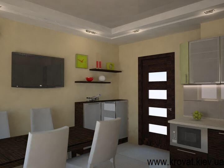 3d ддизайн меблів для квартири