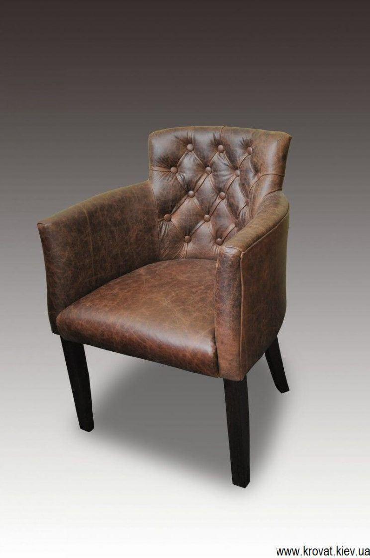 кресло для кафе с пуговицами