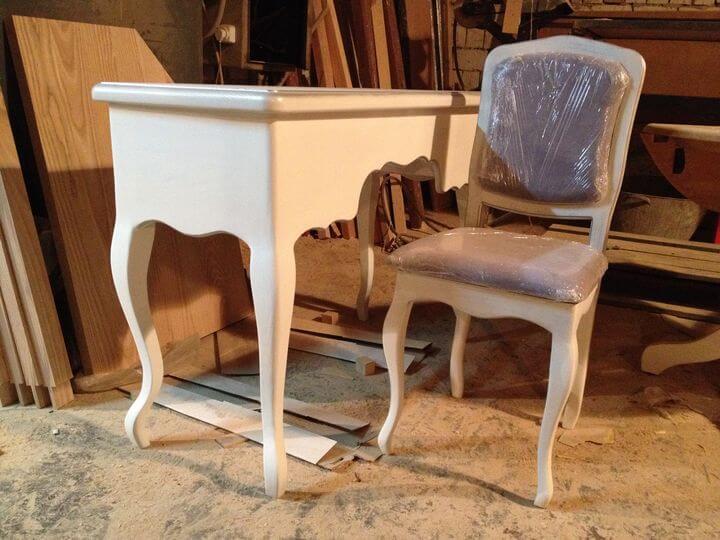 деревянные стулья из массива дерева на заказ
