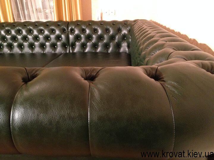 диван Честер по размерам