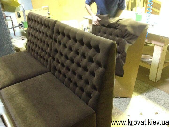Модульный диван в кафе от производителя