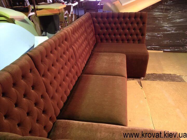 диван в кафе на заказ