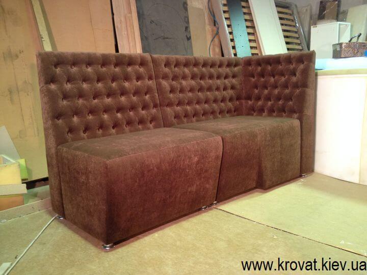 производство мягкой мебели в кафе