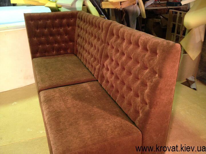 модульні дивани в кафе на замовлення