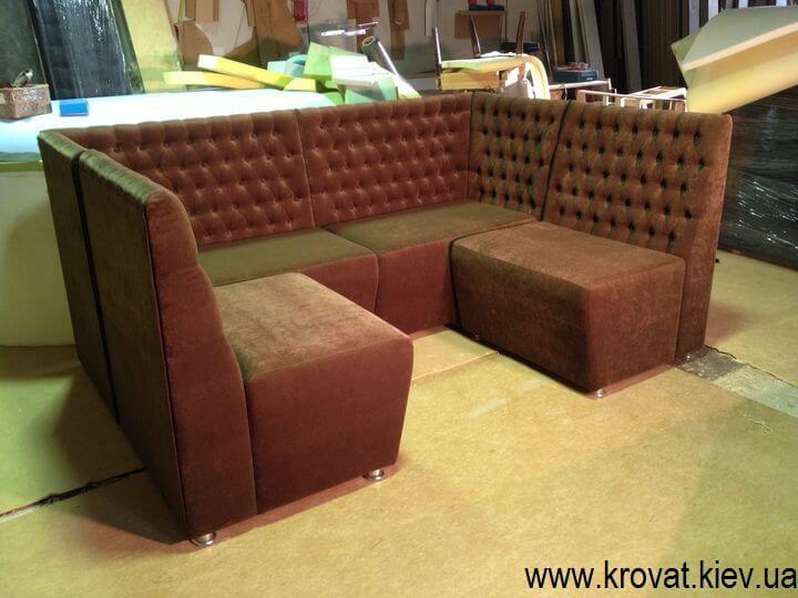 п подібні дивани в кафе на замовлення