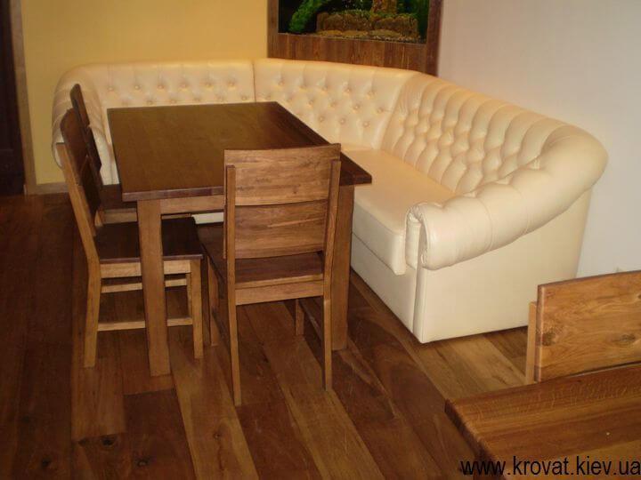 диван з капітоне