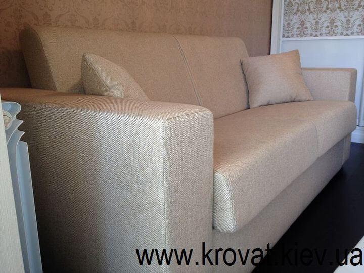 диван без подушек