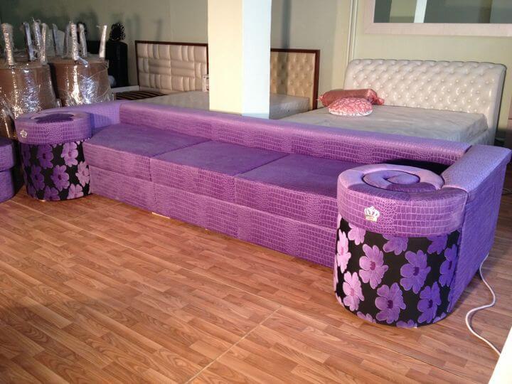 диван на заказ Улитка