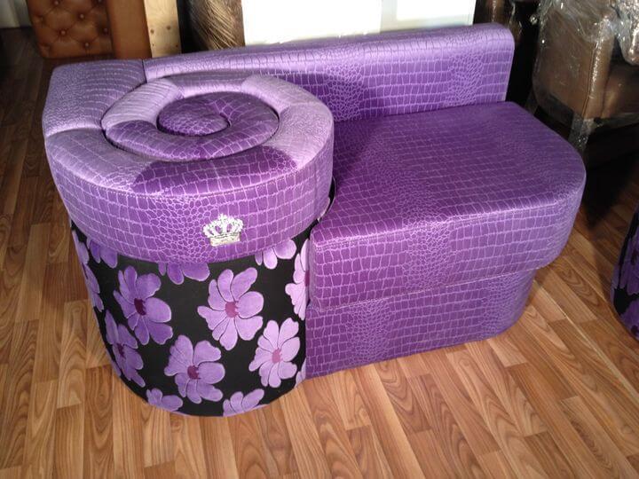 уникальный диван-улитка