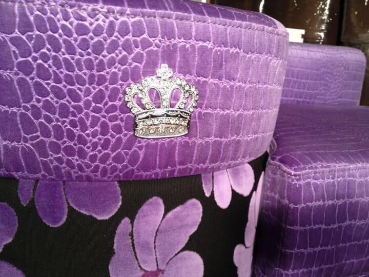 корона Шанель со стразами
