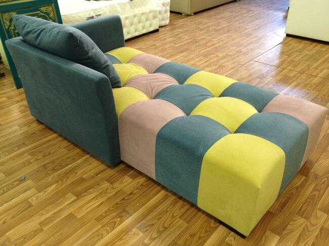 диван с втяжками