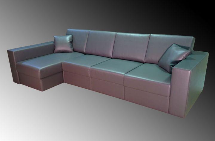диван в екошкірі