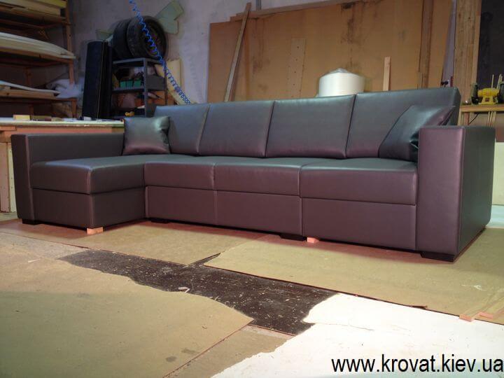 виробництво кутового дивана