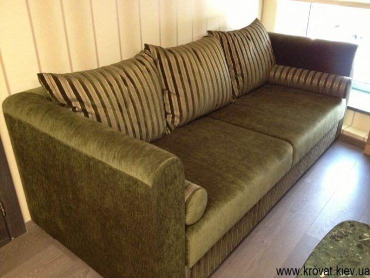 прямой диван в офис