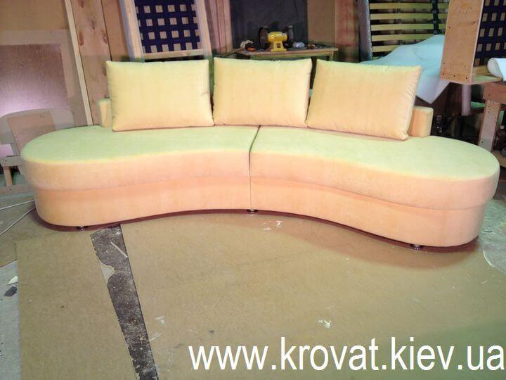 овальный диван