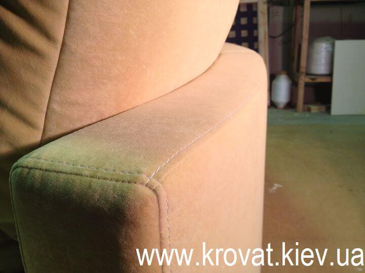 овальный диван на заказ