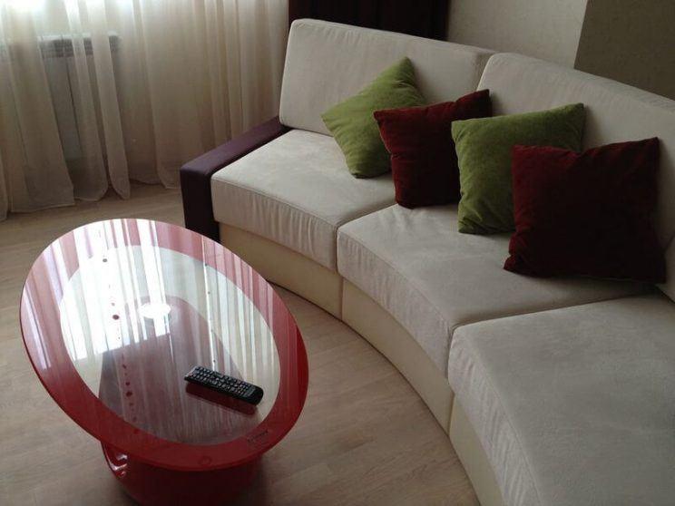 радиусный диван под заказ