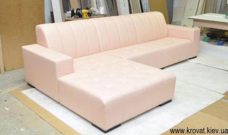 фото дивана с производства