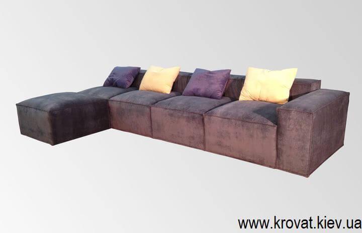 мягкий диван под заказ