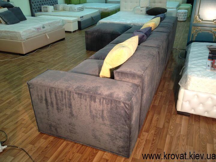 угловой диван в стиле лофт на заказ