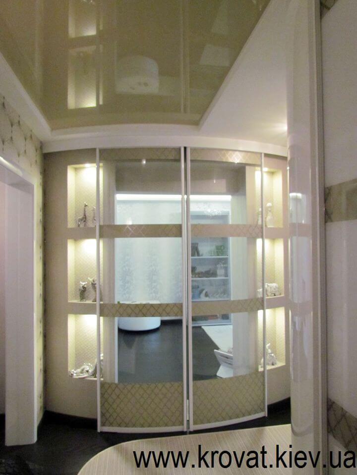 стеклянные радиусные двери