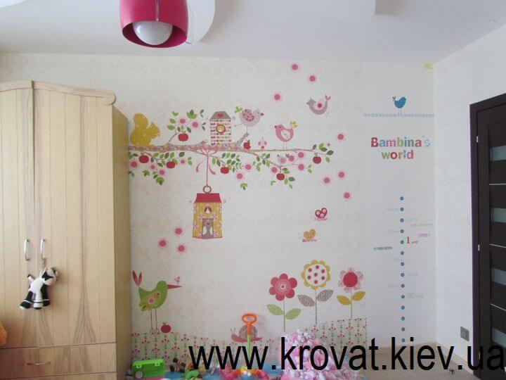 дизайн дитячої кімнати в києві