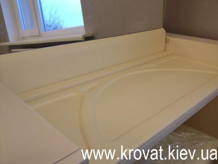 туалетный столик с кожей