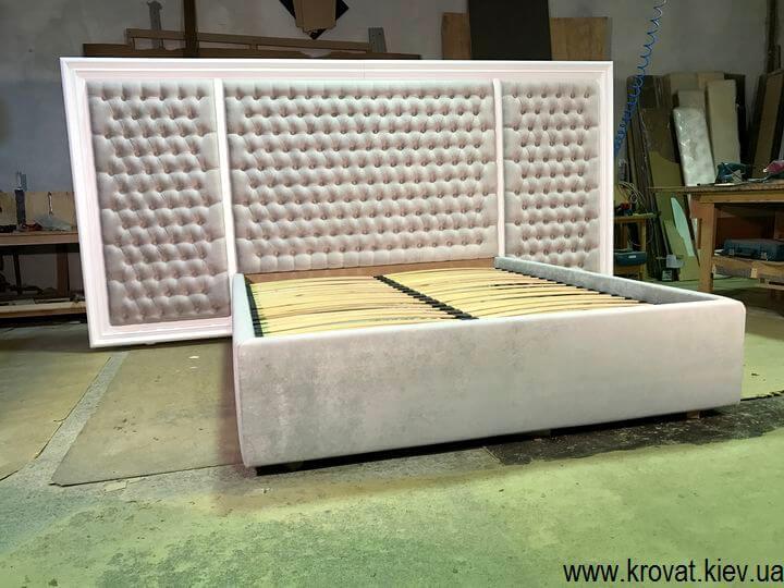 интернет-магазин кроватей с деревянным обрамлением