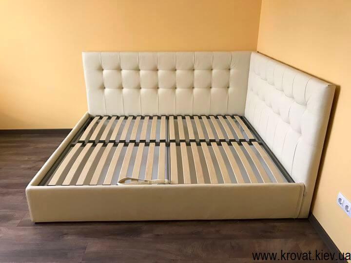изготовление угловых кроватей по фото
