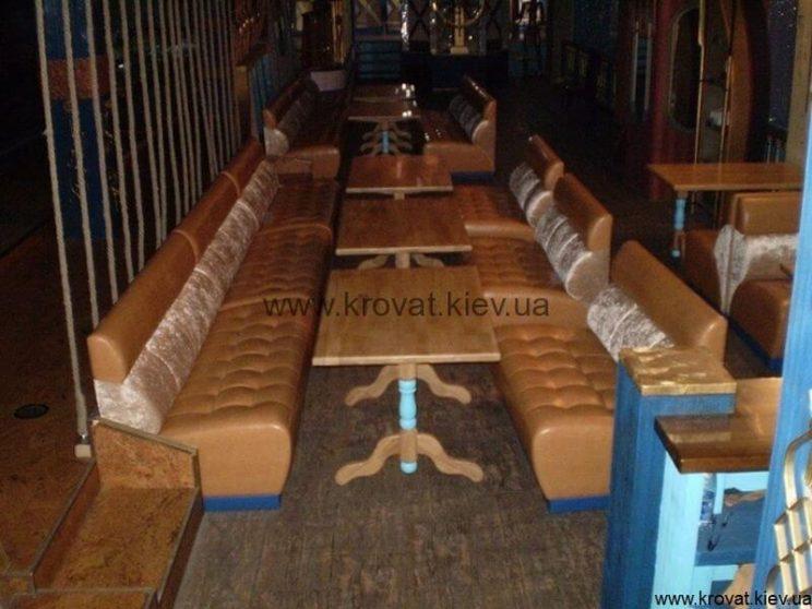 Диваны Кантри для баров ресторанов