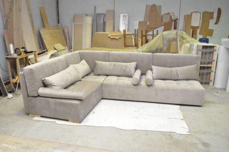 кутовий кальянний диван для лаунж зони
