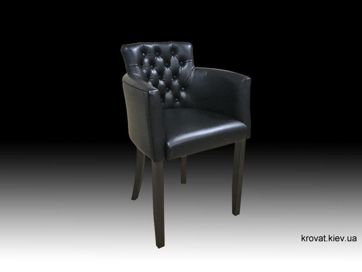високе крісло для барної стійки в шкірі