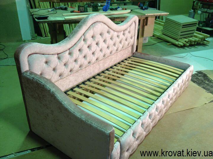 односпальне підліткове ліжко на замовлення