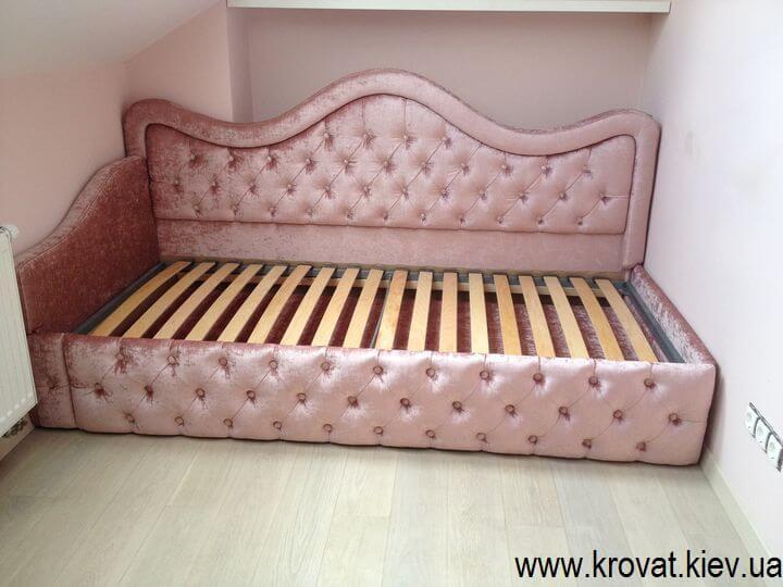 кровать для девочки в интерьере
