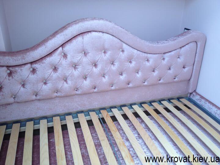 ліжко для дівчинки в дитячу