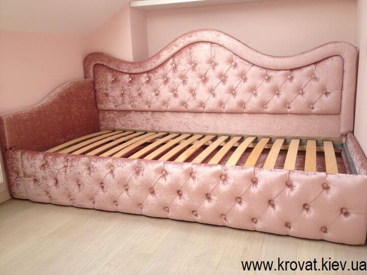 кровать для девочки в спальню на заказ