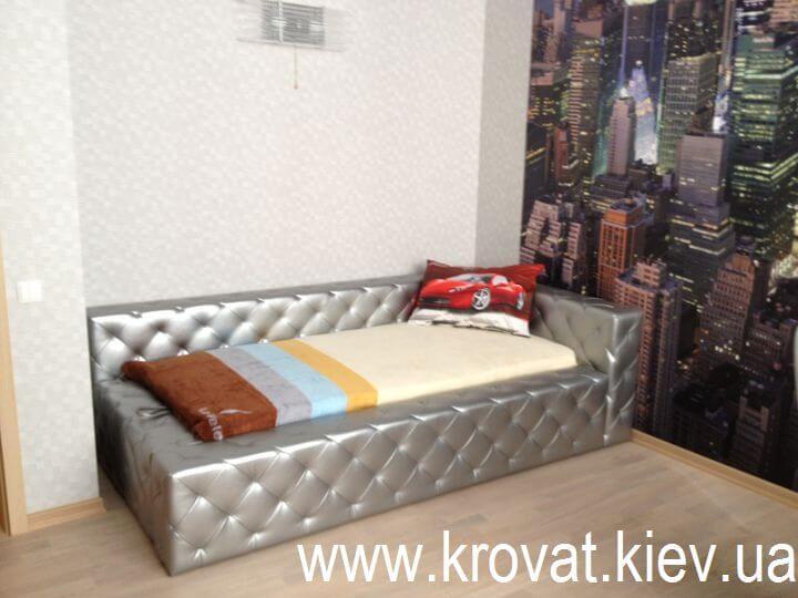 подростковая кровать с втяжками