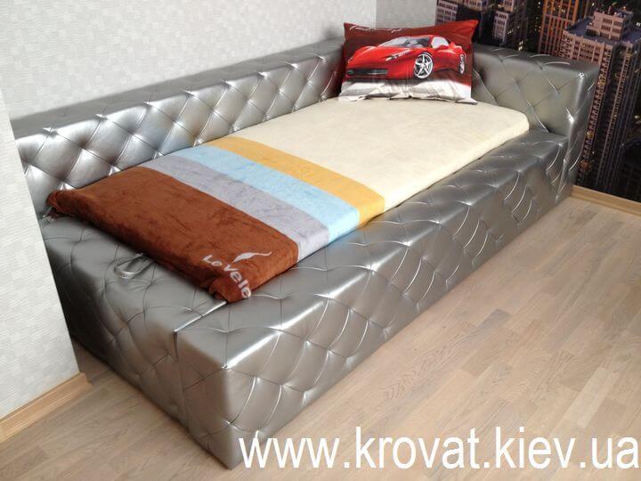 подростковая кровать с втяжками на заказ