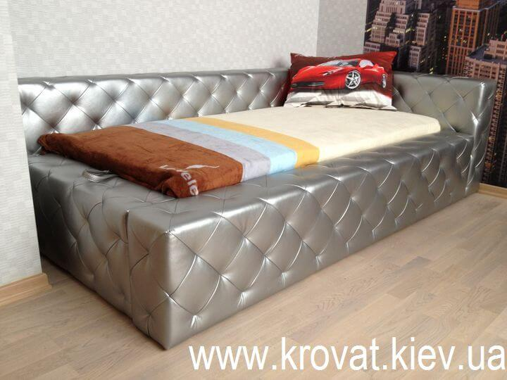 подростковая кровать с утяжками на заказ